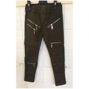 Jeans met ritsen
