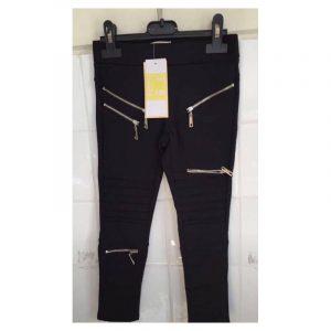 Jeans met ritsjes