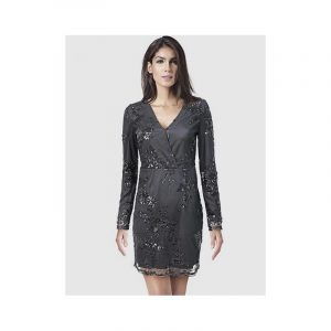 Black Pailletten dress