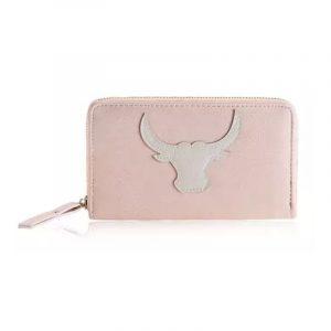 Portemonnee Ibiza style, buffalo roze